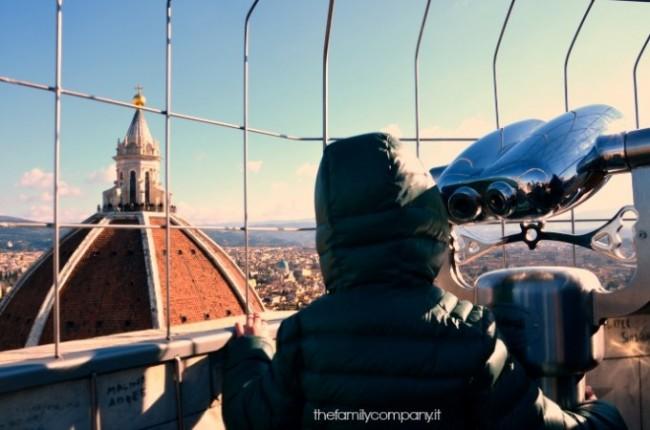 Sulla cima del Campanile di Giotto