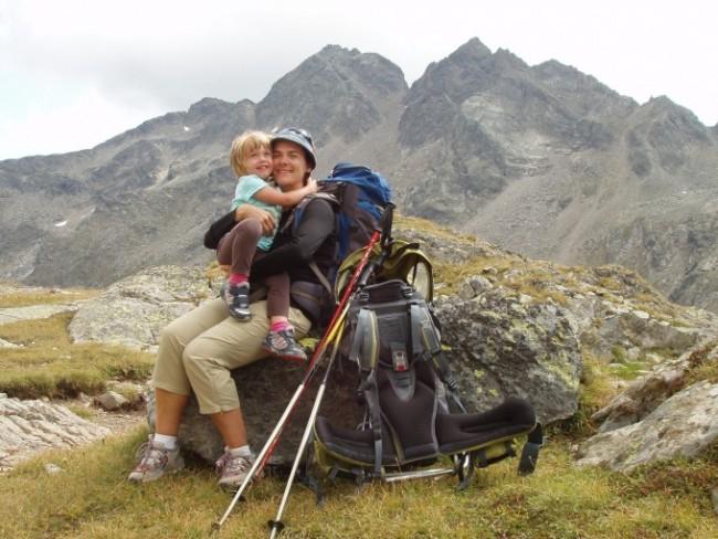 trekking con bambini in Austria