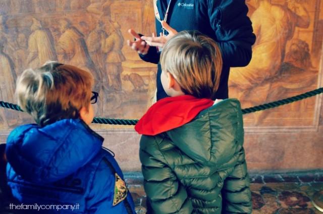 palazzo vecchio visite guidate per bambini, firenze con bambini