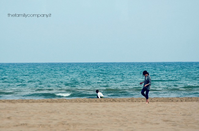 valencia con bambini spiaggia