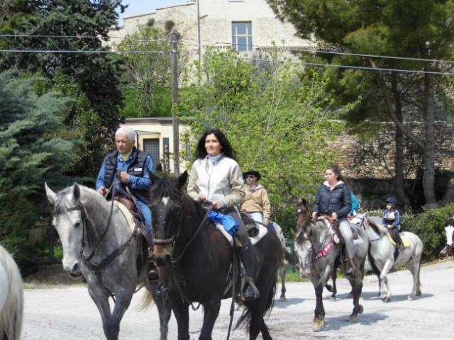 castel ritaldi a cavallo