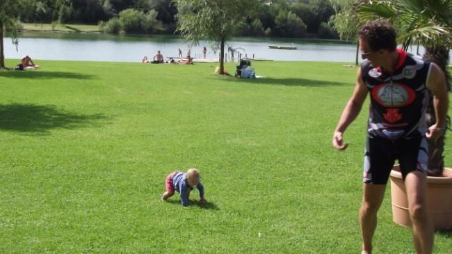 ciclabile danubio con bambini