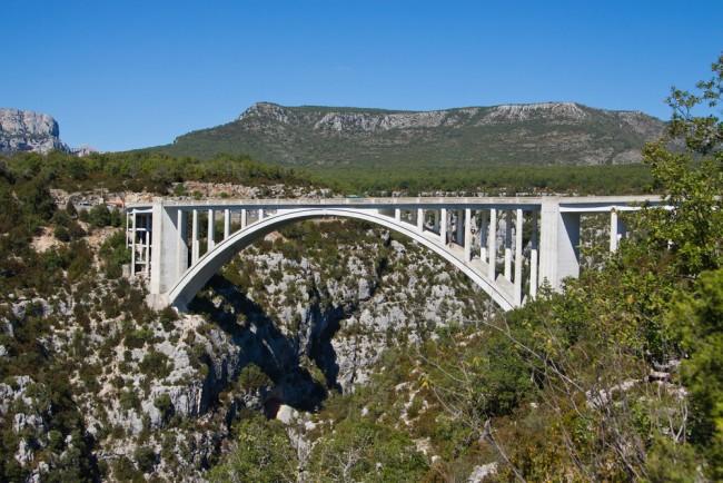 Pont dell'Artuby corniche sublime