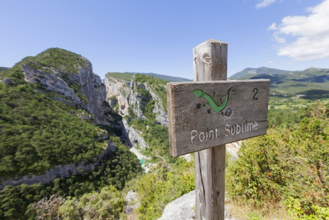 verdon point sublime