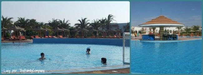 piscina bambini e piscina principale