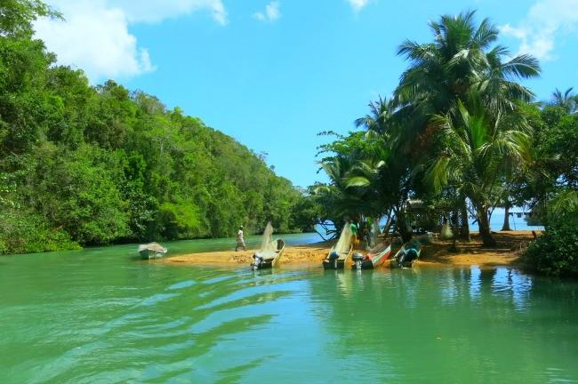 Il Parco Nazionale di Los Haitises con bambini
