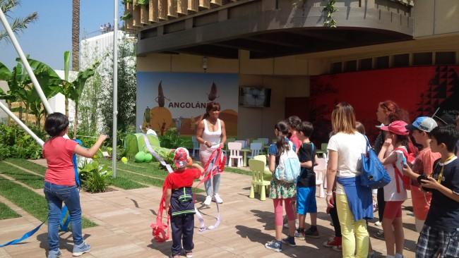 expo con bambini