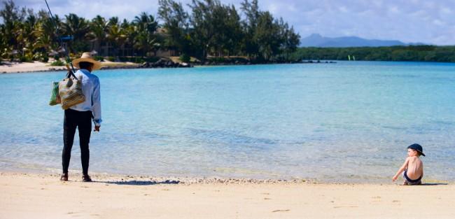 mauritius pescatore bimbo