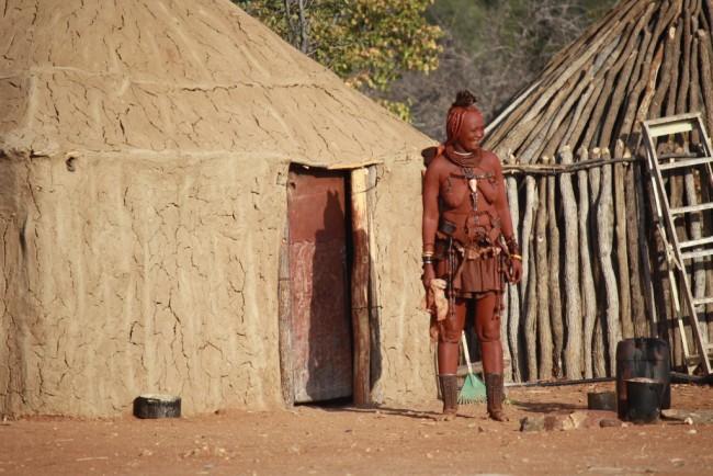 SAFARI CON BAMBINI NAMIBIA, HIMBA