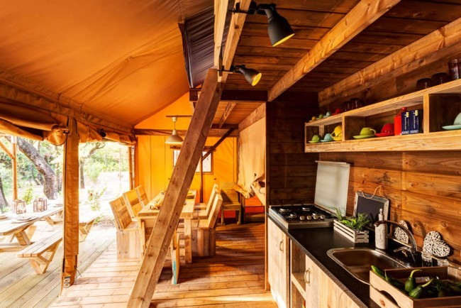 glamping toscana