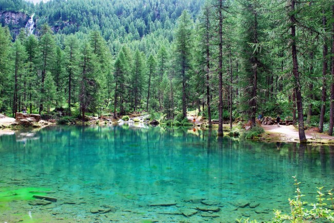 lago del pellaud, weekend con bambini val d' aosta