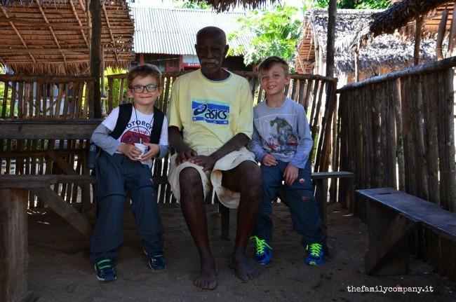 riserva di lokobe capo del villaggio