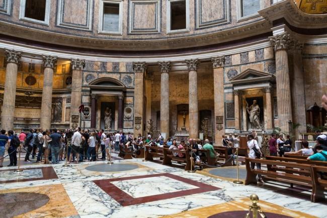pantheon roma con bambini