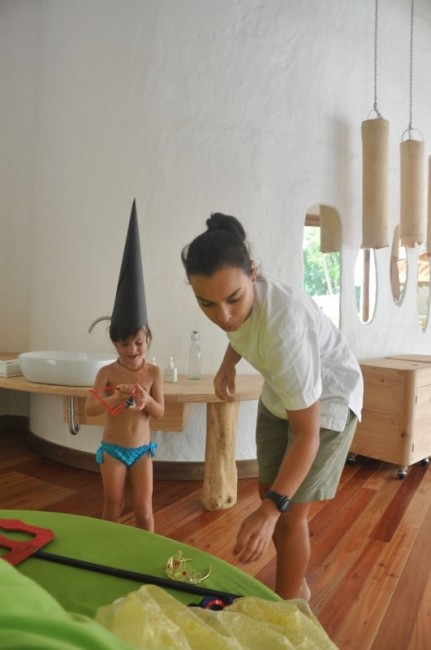 maldive resort lusso bambini