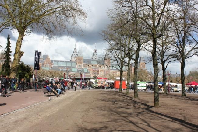 mercato quartiere musei; olanda con bambini; amsterdam con bambini