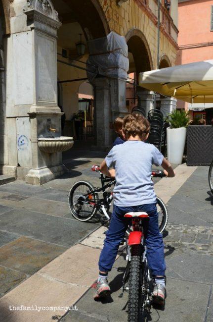 ravenna con bambini bici 2