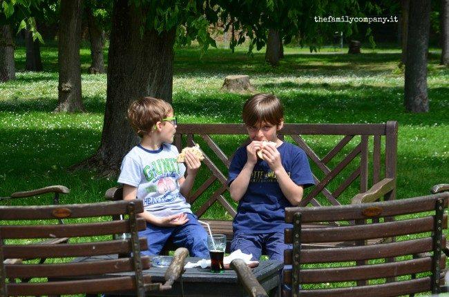 ravenna con bambini pranzo