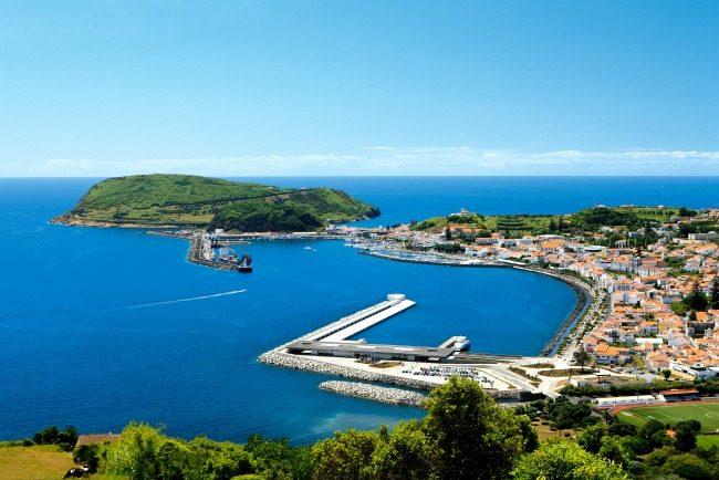 La Baya di Horta. Foto Turismo Azzorre