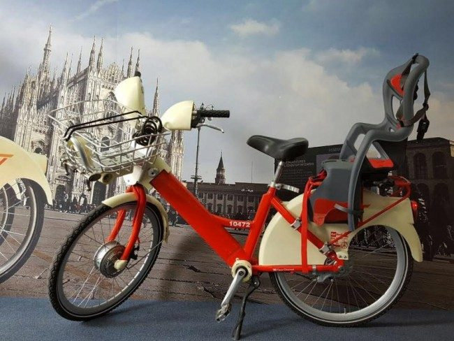 bikesharing mi con seggiolino