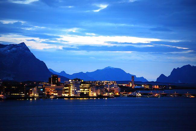 La città di Bodo. Foto Carl Erik Nyvold