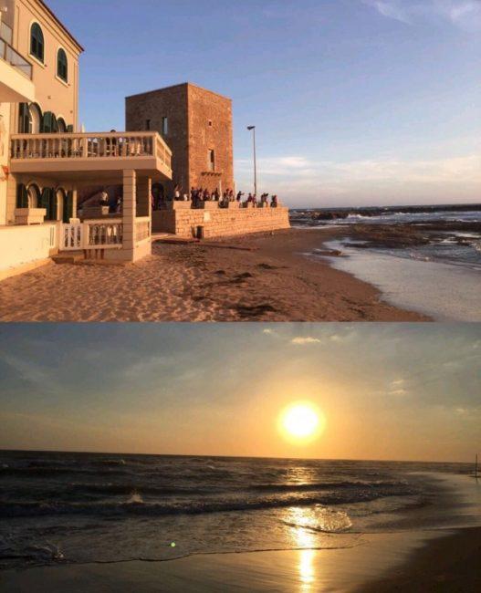 Punta Secca-Casa di Montalbano e tramonto