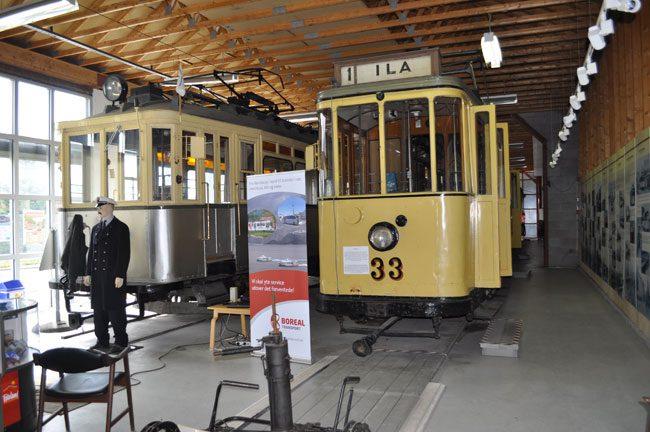 Il Museo dei tram. Foto Ufficio turismo Trondheim.