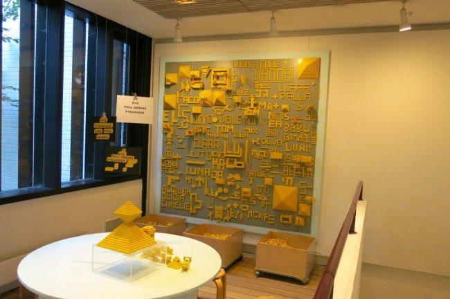 L'area del Children's Wing del Museo Louisiana dedicata alle riproduzioni delle sculture con i mattoncini del Lego. Foto Roberto Savioli