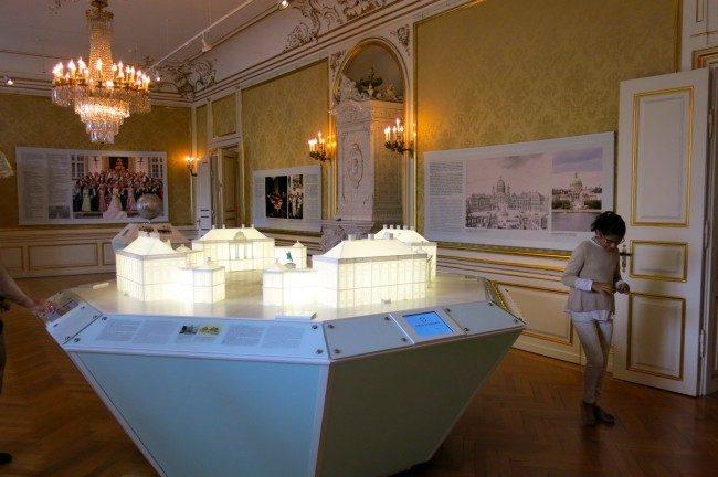 Una miniatura della Residenza di Amelienborg. Foto Roberto Savioli