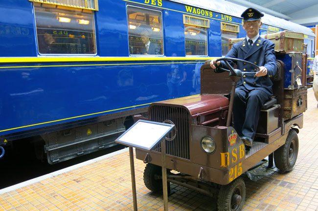 Il Blue Wagon-Lits. Foto Roberto Savioli