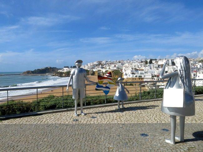 Albufeira-statue foto