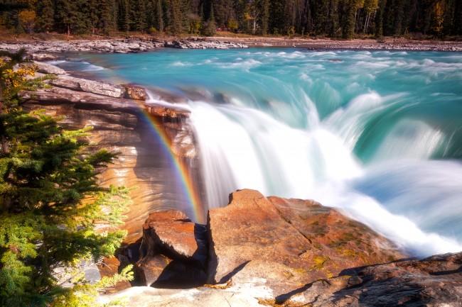 Canada Athabasca Falls