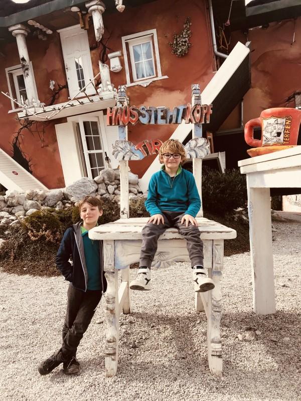 casa capovolta austria