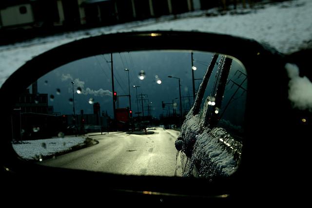 viaggiare in auto con bambini in inverno