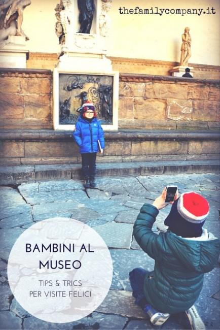 al museo con bambini