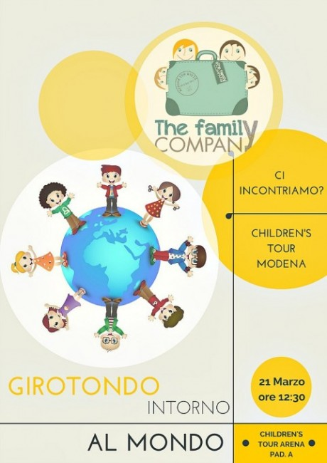 Girotondo Intorno al Mondo Children's Tour 2015