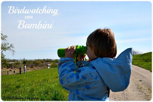 birdwatching con bambini