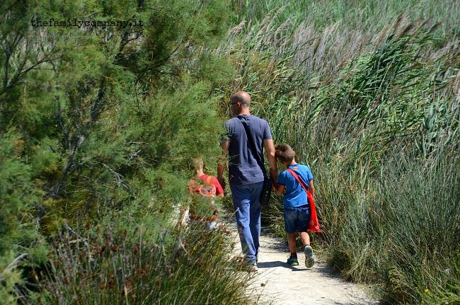 viaggio con bambini camargue