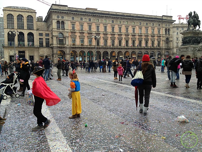 carnevale in piazza duomo