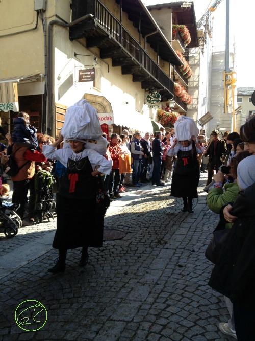 donne tradizioni cogne