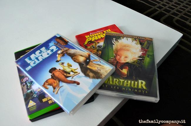 I dvd per bambini trovati in appartamento
