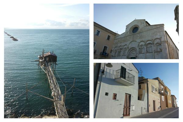 Storico trabucco termolese / Cattedrale di Termoli / Passeggiando per il Paese Vecchio