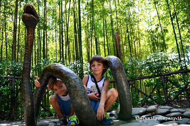parco di pinocchio serpente