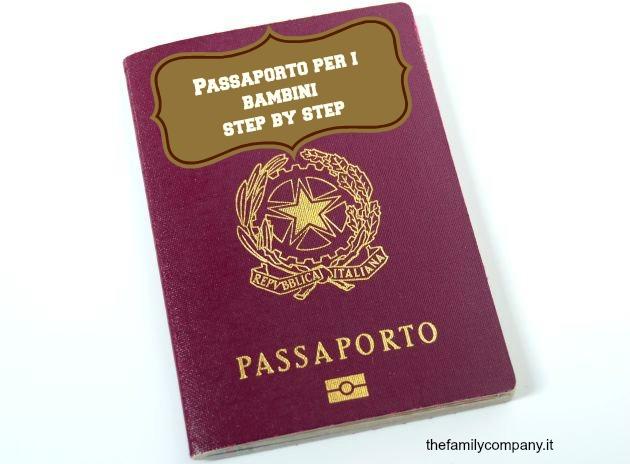 passaporto bambini