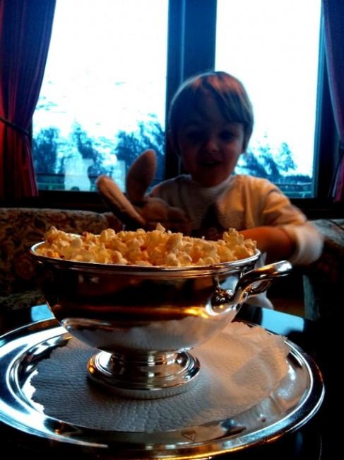 Al cinema per bimbi, non manca il pop corn