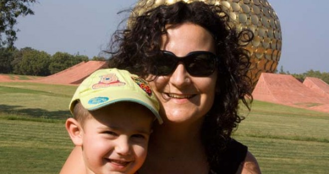 Francesca, la mamma che gira il mondo
