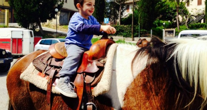 CastelRitaldi,Umbriaa portatadi bambini