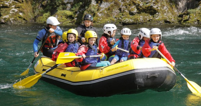 Rafting e hydrospeed in Valsesia con bambini