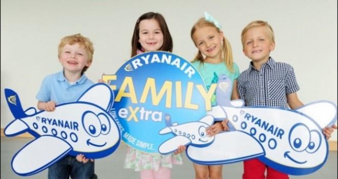 Ryanair bambini: sconti e servizi family in arrivo