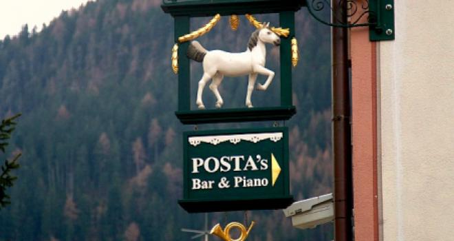 Il leggendario Cavallino Bianco ad Ortisei