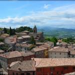 Passeggiando a Verucchio con Paolo, Francesca e Sigismondo